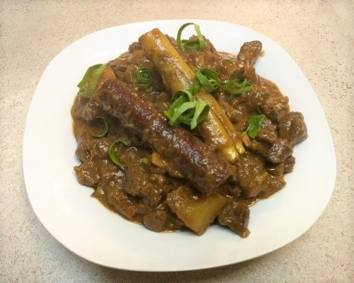 Braised Fragrant Beef Curry