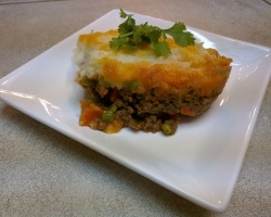 Curry Shepherd's Pie