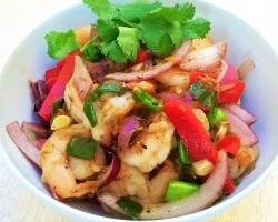 Jamaican Style Pepper Shrimp