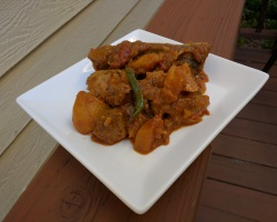 Easy Indian Vindaloo